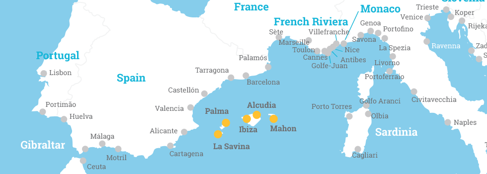 Balearic Islands | MedCruise