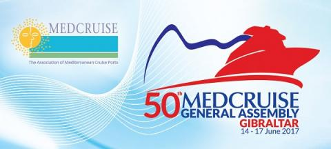50th MedCruise General Assembly, Gibraltar, 14-17 June 2017 - Κεντρική Εικόνα