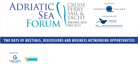 Adriatic Sea Forum, 30 - 31 May, Ancona, Italy. - Κεντρική Εικόνα