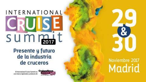 International Cruise Summit 2017, Madrid - Κεντρική Εικόνα