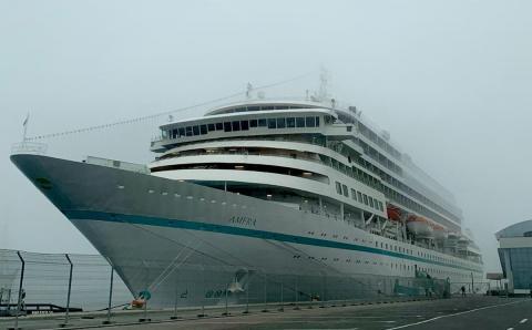 The maritime passenger ship AMERA is closing the cruise season in Constanta PortThe maritime passenger ship AMERA is closing the cruise season in Constanta Port - Κεντρική Εικόνα