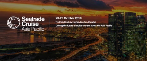 Seatrade Cruise Asia Pacific 2018, Shanghai, China, 23-25 October, 2018 - Κεντρική Εικόνα