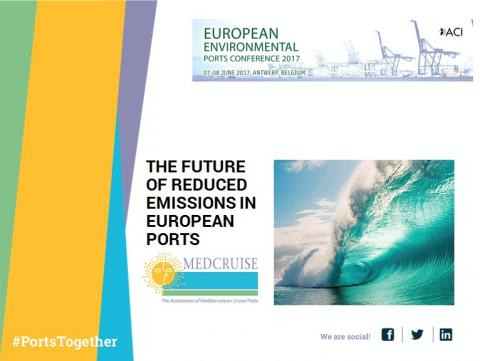 MedCruise joins the European Environmental Ports Conference 2017 in Antwerp - Κεντρική Εικόνα