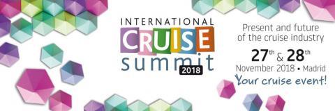 International Cruise Summit, Madrid, 27-28 November, 2018 - Κεντρική Εικόνα