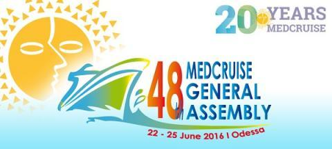 48th MedCruise General Assembly in Odessa - Κεντρική Εικόνα