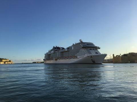 MSC Grandiosa makes first call to Valletta - Κεντρική Εικόνα