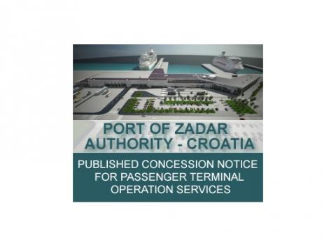 Port of Zadar Authority publishes concession notice for passenger terminal operation services - Κεντρική Εικόνα