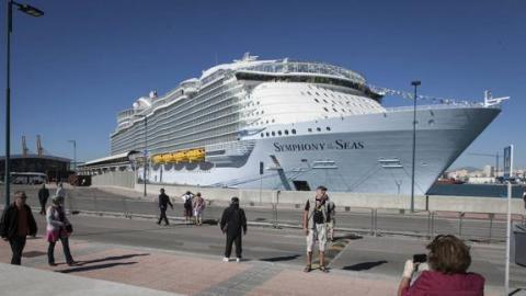 Malaga port hosts the presentation of Symphony of the Seas - Κεντρική Εικόνα