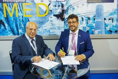 Memorandum of Understanding between  Hellenic Port Association and MedCruise - Κεντρική Εικόνα