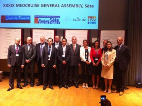 MedCruise Elects New President and Board of Directors (2011-2014) - Κεντρική Εικόνα