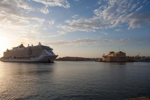 Valletta Cruise Port welcomes MSC Cruises' latest flagship - Κεντρική Εικόνα