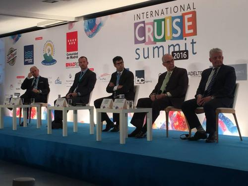 International Cruise Summit, Madrid, November 2016 - Media Gallery