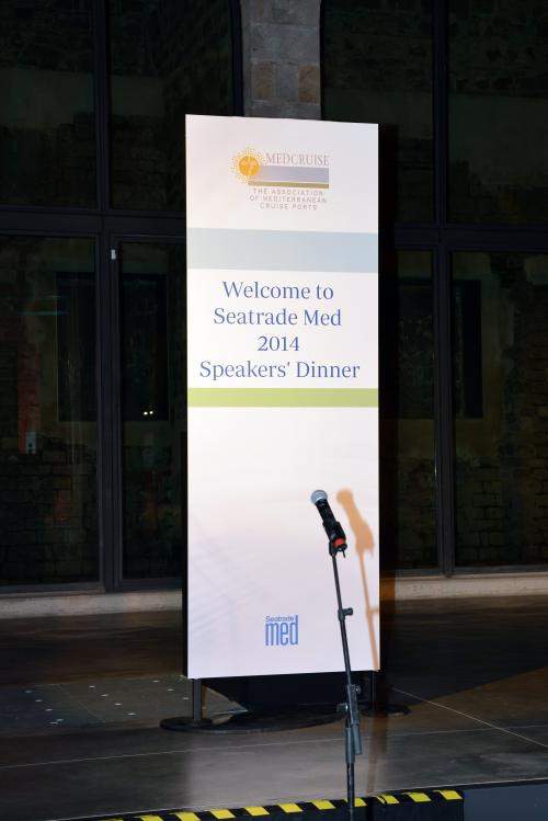 Seatrade Med 2014, Barcelona | Speakers Dinner - Media Gallery 9