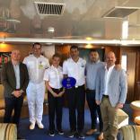 Port of Gibraltar: Inaugural call for Harmony G  - Κεντρική Εικόνα