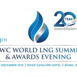 CWC World LNG Summit & Awards Evening, Rome, 3 – 6 December 2019. - Κεντρική Εικόνα