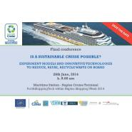 Sustainable Cruise Final Conference (26 June Naples Italy) - Κεντρική Εικόνα
