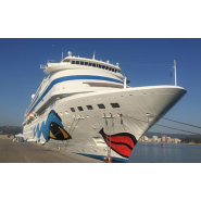 The port of Palamós welcomes the cruise ship 'Aidacara' for the first time, with over a thousand passengers - Κεντρική Εικόνα