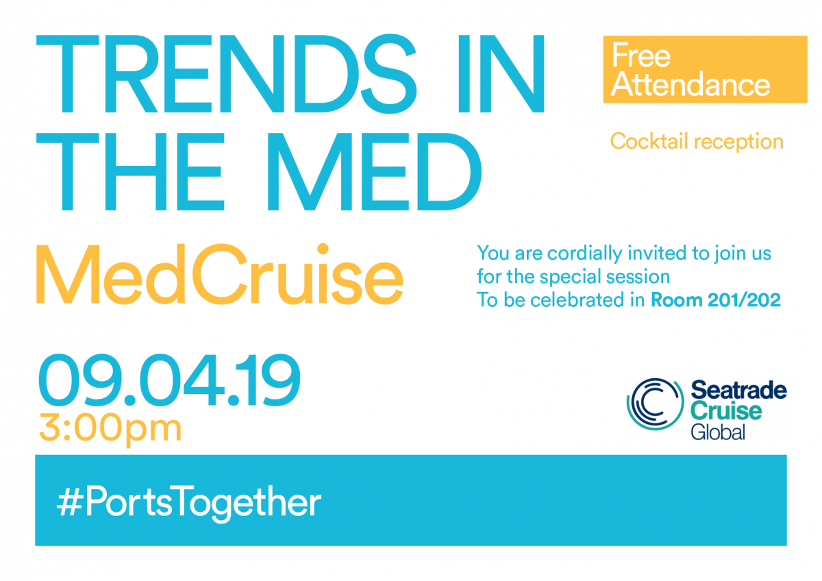 Seatrade Cruise Global, 8-11 April, Miami | MedCruise