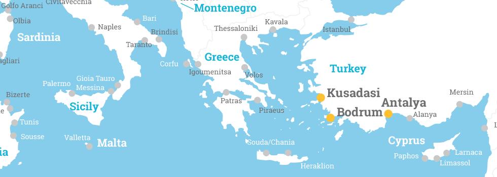 Antalya Map Pdf