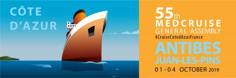 55th MedCruise General Assembly, 1-4 October, French Riviera - Κεντρική Εικόνα