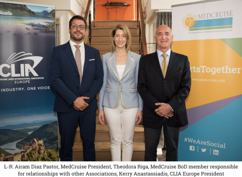 CLIA Europe and MedCruise sign partnership deal | MedCruise