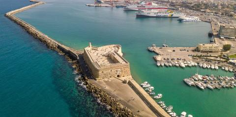 Port of Heraklion signs a new contract for the treatment of ships' solid wastes. - Κεντρική Εικόνα
