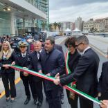 Inauguration of the updated cruise Calata delle Vele quay in Savona - Κεντρική Εικόνα