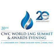 CWC World LNG Summit & Awards Evening, Rome, 3 – 6 December 2019. - Κεντρική Εικόνα
