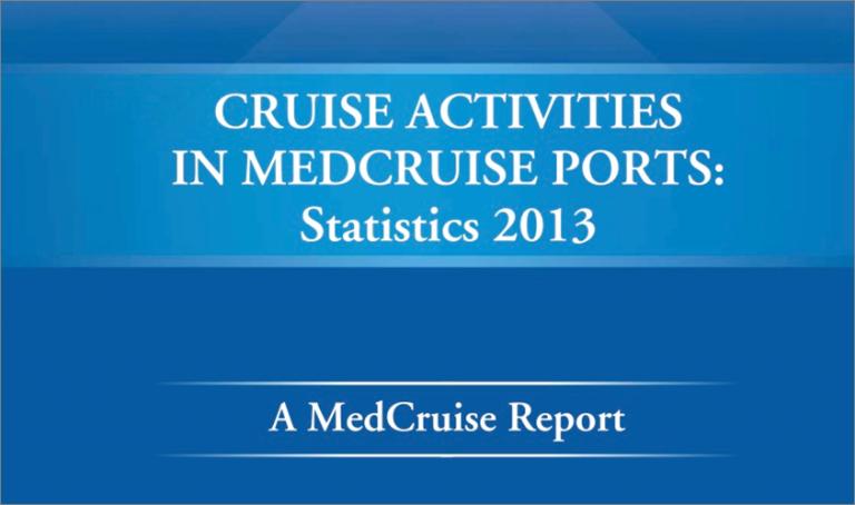MedCruise President Stavros Hatzakos presents the MedCruise Statistical Report at Cruise Shipping Miami - Κεντρική Εικόνα