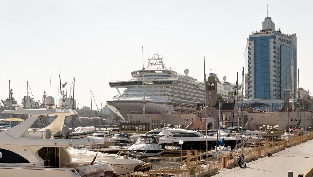 Port of Odessa: Record number of passenger vessels - Κεντρική Εικόνα