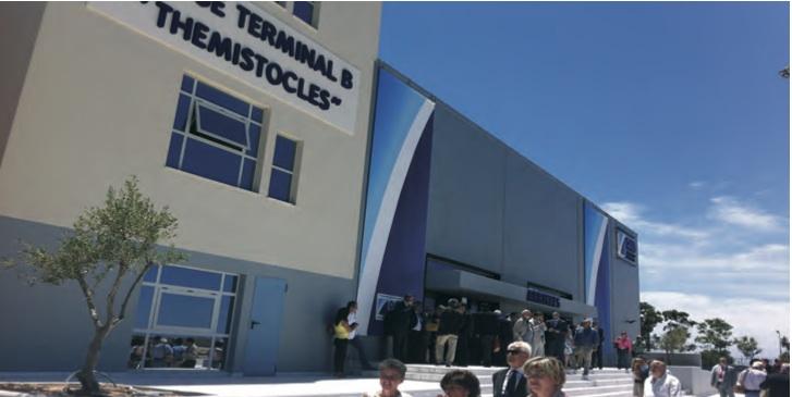 Piraeus opens newly extended Terminal B - Κεντρική Εικόνα