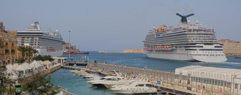 Valletta Cruise Port welcomes Carnival Vista - Κεντρική Εικόνα