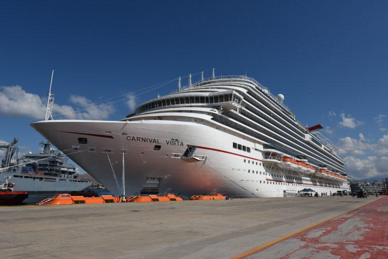 Piraeus Port welcomes the newly built Carnival Vista - Κεντρική Εικόνα