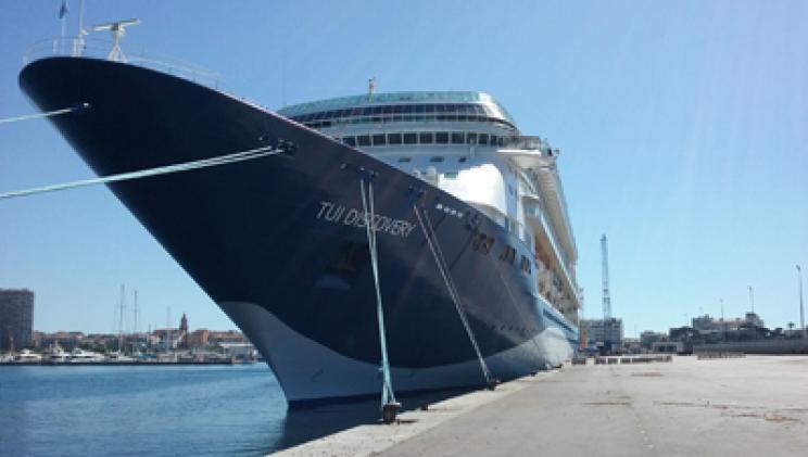 Palamós marks thirteen years welcoming British cruise ship company  - Κεντρική Εικόνα