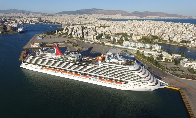 Port of Piraeus welcomes Carnival Vista with 5,000 cruise passengers - Κεντρική Εικόνα