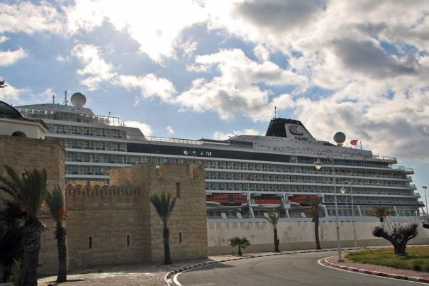 La Goulette Cruise Terminal welcomes Viking Sea - Κεντρική Εικόνα
