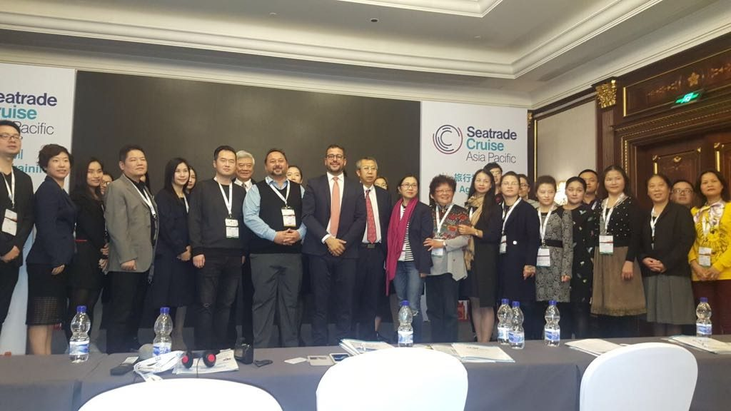 MedCruise leads Travel Agents Training @ Seatrade Cruise Asia Pacific 2017 - Κεντρική Εικόνα