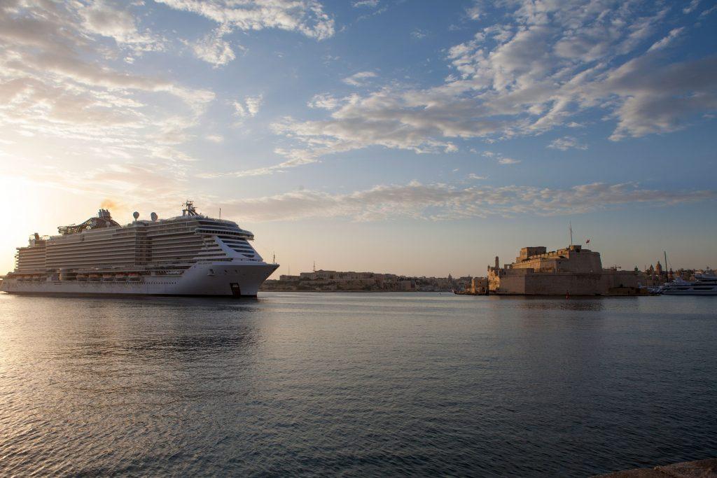 Valletta Cruise Port welcomes MSC Cruises' latest flagship - Κεντρική Εικόνα
