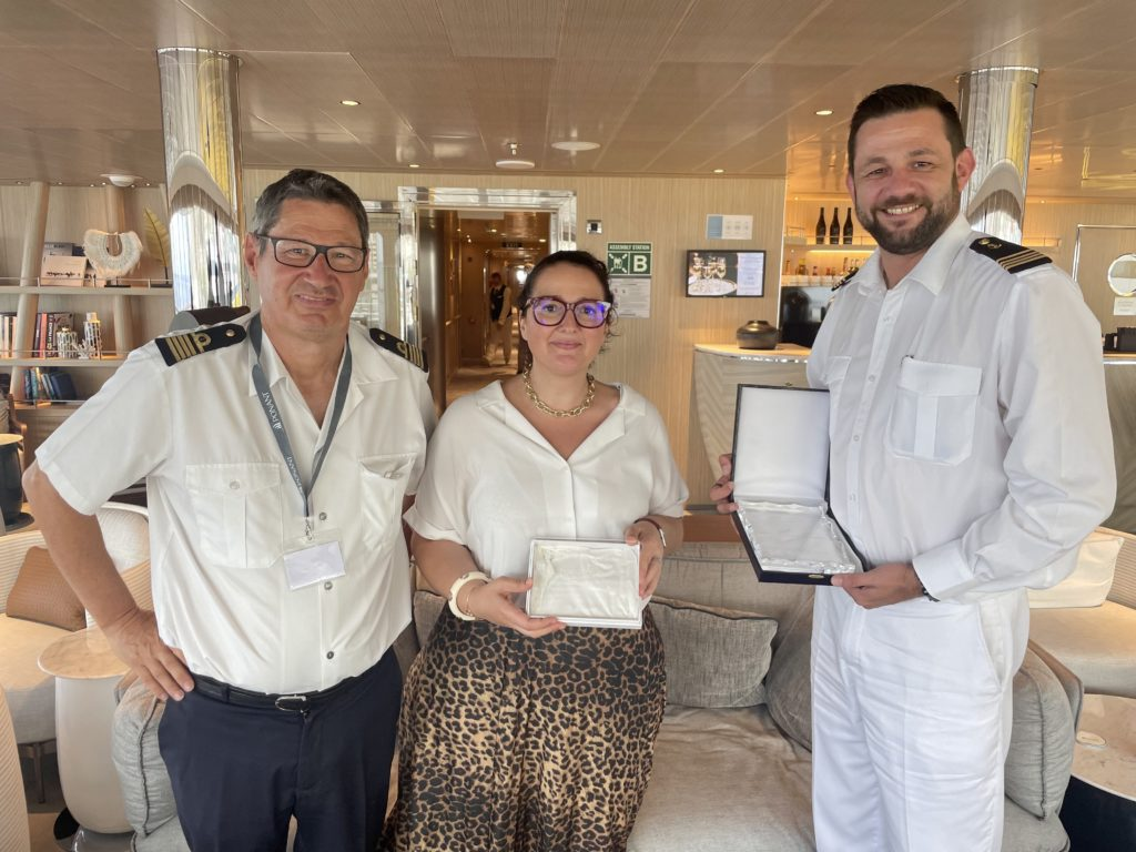 First plaque exchange ceremony in 2 years in Bastia: The Port of Bastia to welcome  Le Bellot from Ponant for her maiden call  (September 2021)